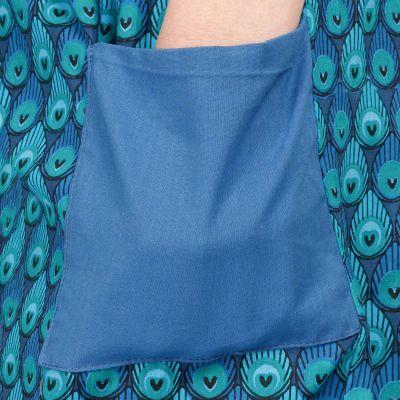 Spodnie bawełniane trzy-czwarte Peacock India