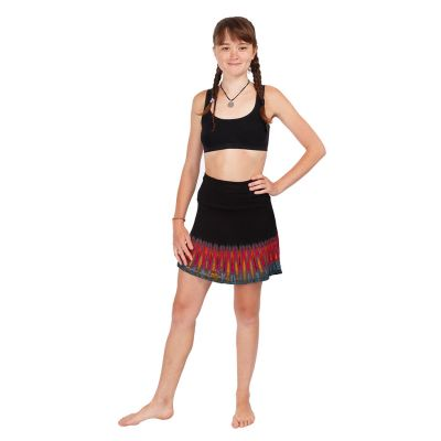 Batikowa mini spódniczka Gamon Berhasil   UNI (odpowiada S/M)
