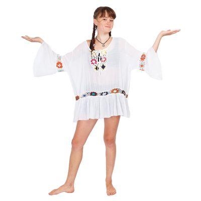 Letnia bluzka Vera White   UNI