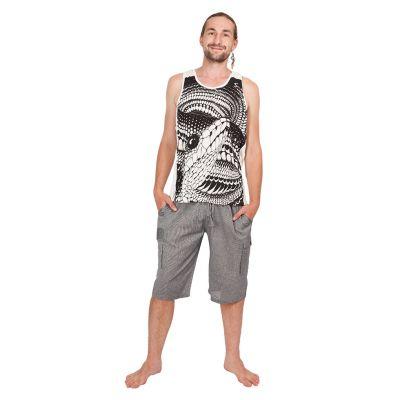 Męska koszulka bez rękawów Sure Snake White | M, L, XL, XXL
