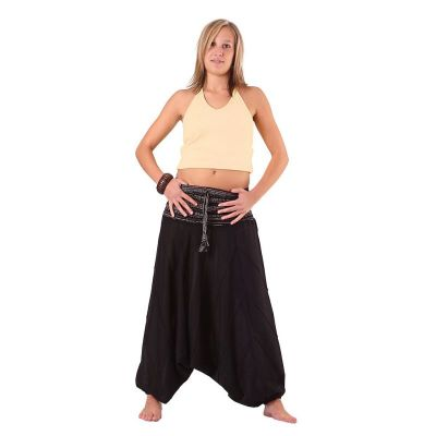 Spodnie Perempat Hitam