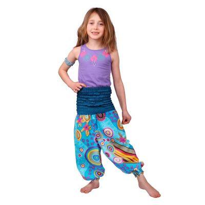 Turkusowe spodnie Fairy