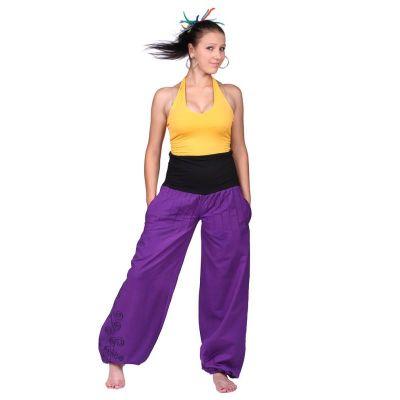 Spodnie Sulaman Ungu