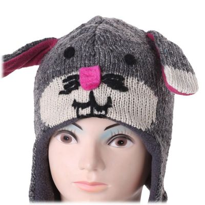 Wełniana czapka Bunny