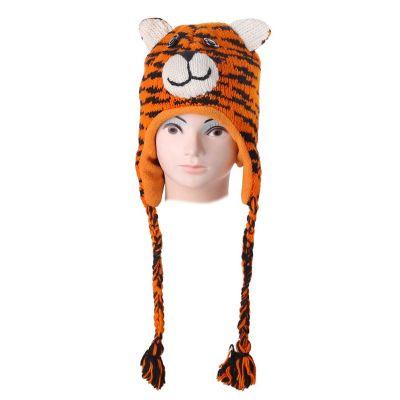 Wełniana czapka Tiger | S, L