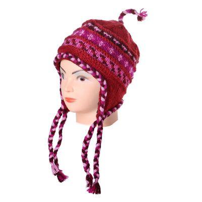 Wełniana czapka Annapurna Roja