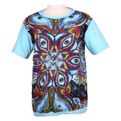 Koszulka Eye Mandala Turquoise