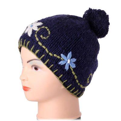 Wełniana czapka Bunga Biru