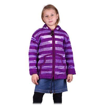 Bluza ze wzorem Purple Queen
