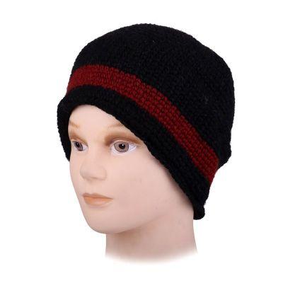 Wełniana czapka Datar Red Stripe