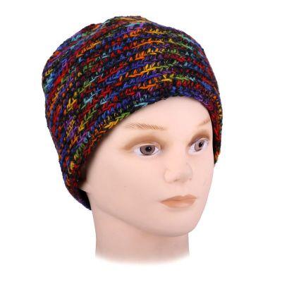 Wełniana czapka Arna Rainbow