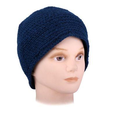 Wełniana czapka Arna Blue