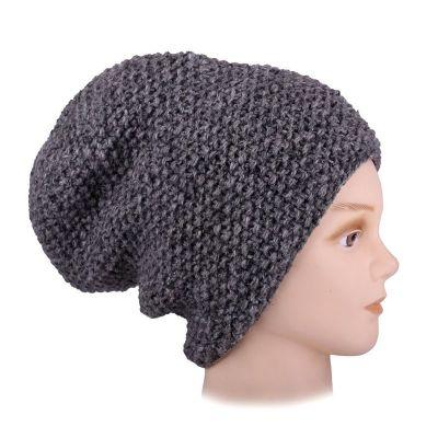 Wełniana czapka Istri Grey