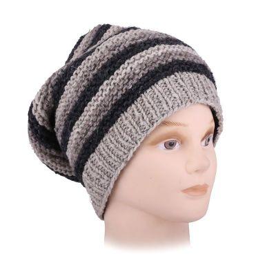Wełniana czapka Istri Stripe