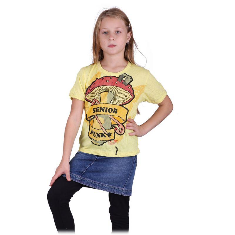 Jasny T-shirt Senior Punk Yellow