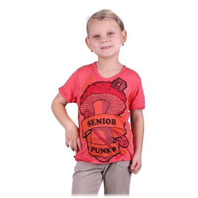 Jasny T-shirt Senior Punk Pink