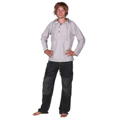 Męskie bawełniane spodnie Kirtipur Hitam | XL, XXL