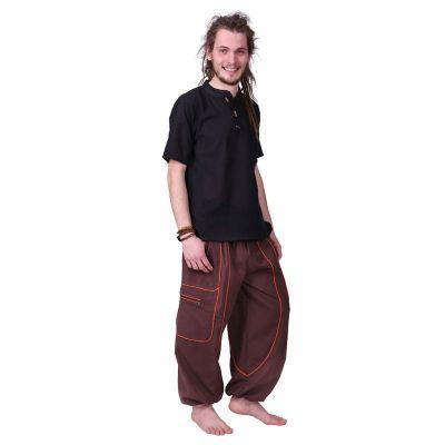 Męskie bawełniane spodnie Arun Hutan | S/M, L/XL