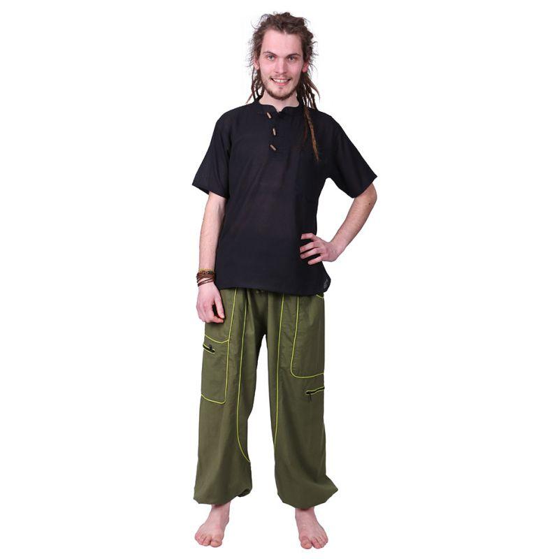 Męskie bawełniane spodnie Arun Dril Nepal