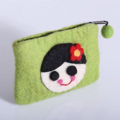Torba z zieloną dziewczyną