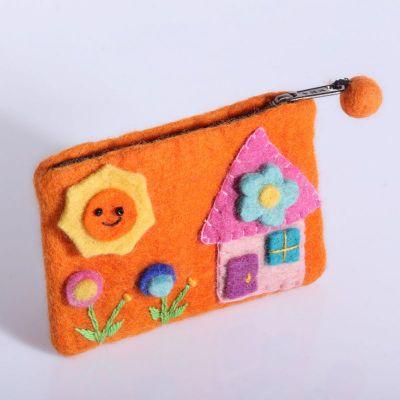 Torba z domkiem w kolorze pomarańczowym