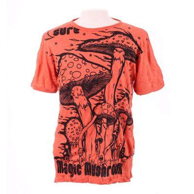 T-shirt męski Sure Magic Mushroom pomarańczowy