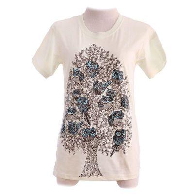 Koszulka T-shirt Sowa Assembly Jasnożółta