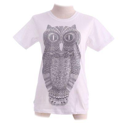 Koszulka Big Owl White