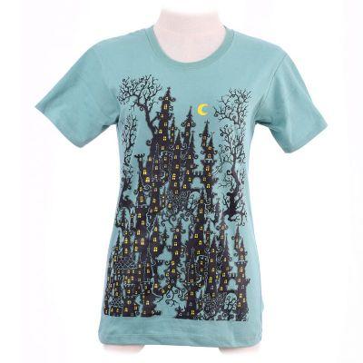 Zielona koszulka Haunted Castle