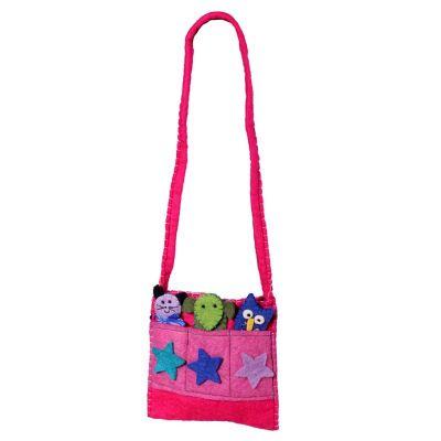 Różowa torebka Animal