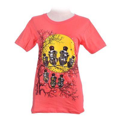T-shirt Full Moon Pink