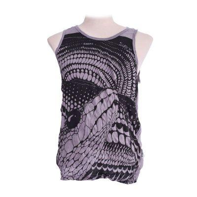 Koszulka bez rękawów Sure Snake Grey