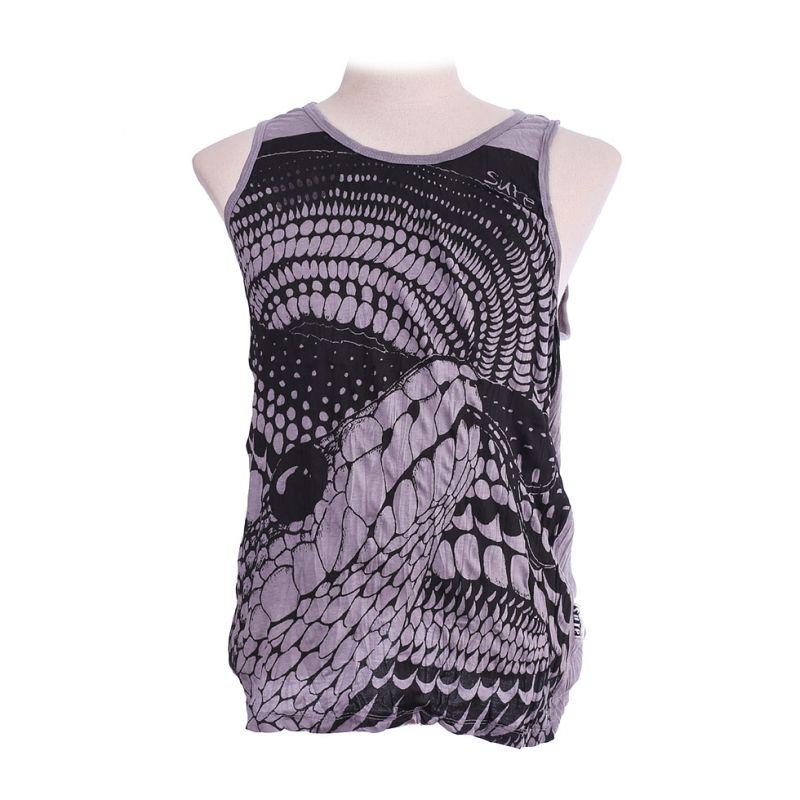 Męska koszulka bez rękawów Sure Snake Grey