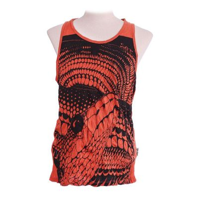 Koszulka bez rękawów Sure Snake Orange
