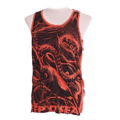 Koszulka bez rękawów Sure Octopus Orange