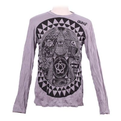 Koszulka Pyramid Grey - długi rękaw