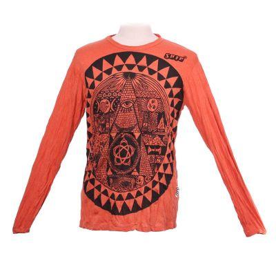 Koszulka Pyramid Orange - długi rękaw