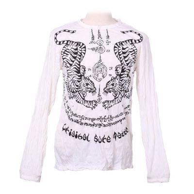 Koszulka Tigers White - długi rękaw