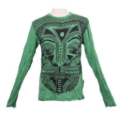 Koszulka Khon Mask Green - długi rękaw