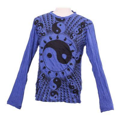 Koszulka Yin&Yang Blue- długi rękaw
