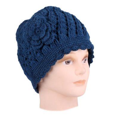 Wełniana czapka Murni Pirus