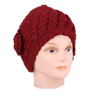 Wełniana czapka Murni Mawar