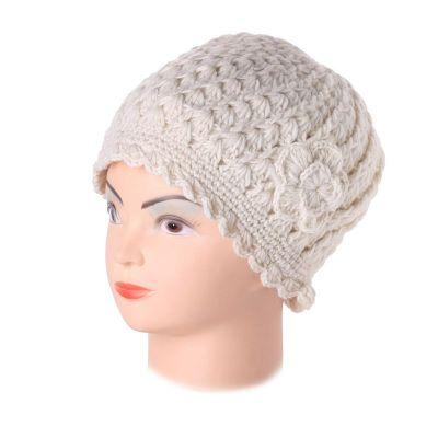 Wełniana czapka Murni Putih