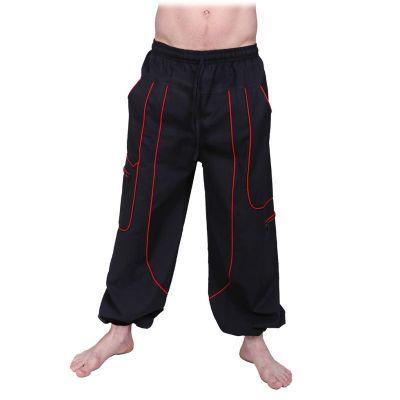 Męskie bawełniane spodnie Arun Hitam | S/M, L/XL